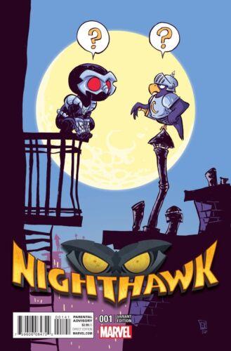 Vault 35 NIGHTHAWK #1 YOUNG VARIANT Marvel NM Comic