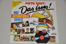 Fiete sagt: Das isses! - Pop 80er - VA Sampler Album Vinyl Schallplatte LP