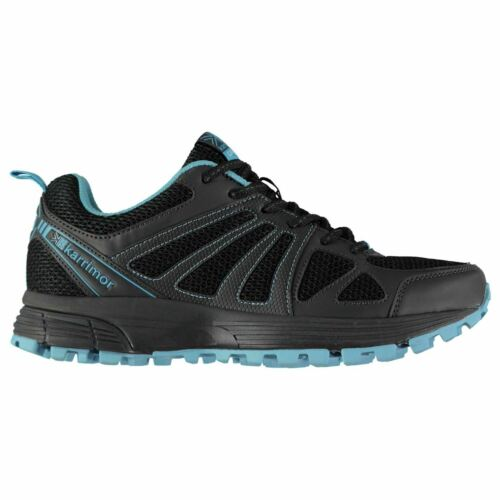 Karrimor femme Caracal Trail Running Chaussures Low Top Lace Up Baskets Maille Panneaux