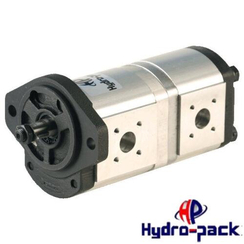 Hydraulische Doppelpumpe Tandempumpe 22A22X172//11X173 22+11 ccm linksdrehend