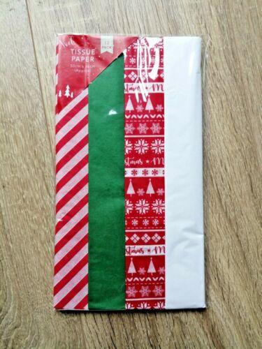 Festive Xmas Christmas Tissue Paper Multi Packs Stars//Let it Snow//Xmas Trees