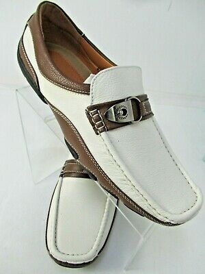 Men/'s Giovanni Dress Shoes Driving Moccasin Prom Formal Slip On Casual M788-38