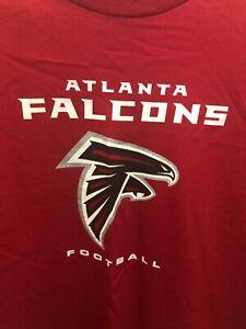 Atlanta-Falcons-Mens-Medium-Long-Sleeve-Shirt-New-Nfl-Football-Red