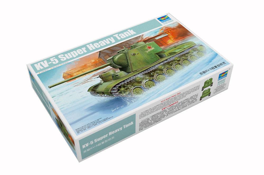 1 35 SCALE TRUMPETER MODEL KIT TRU05552  KV-5 Super Heavy Tank