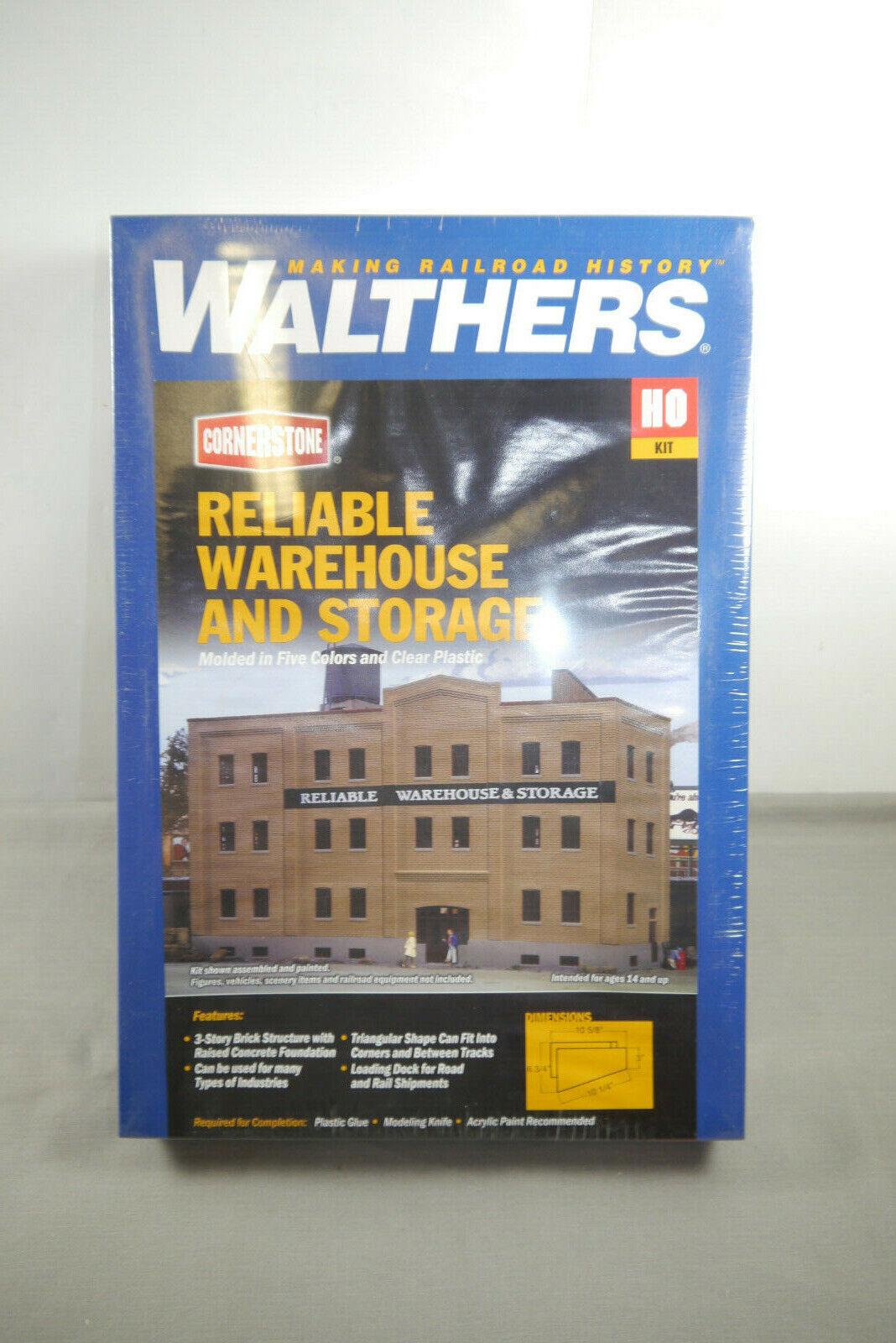 Walthers Cornerstone Reliable Warehaus and Storage  H0 Neu OVP (MF19)