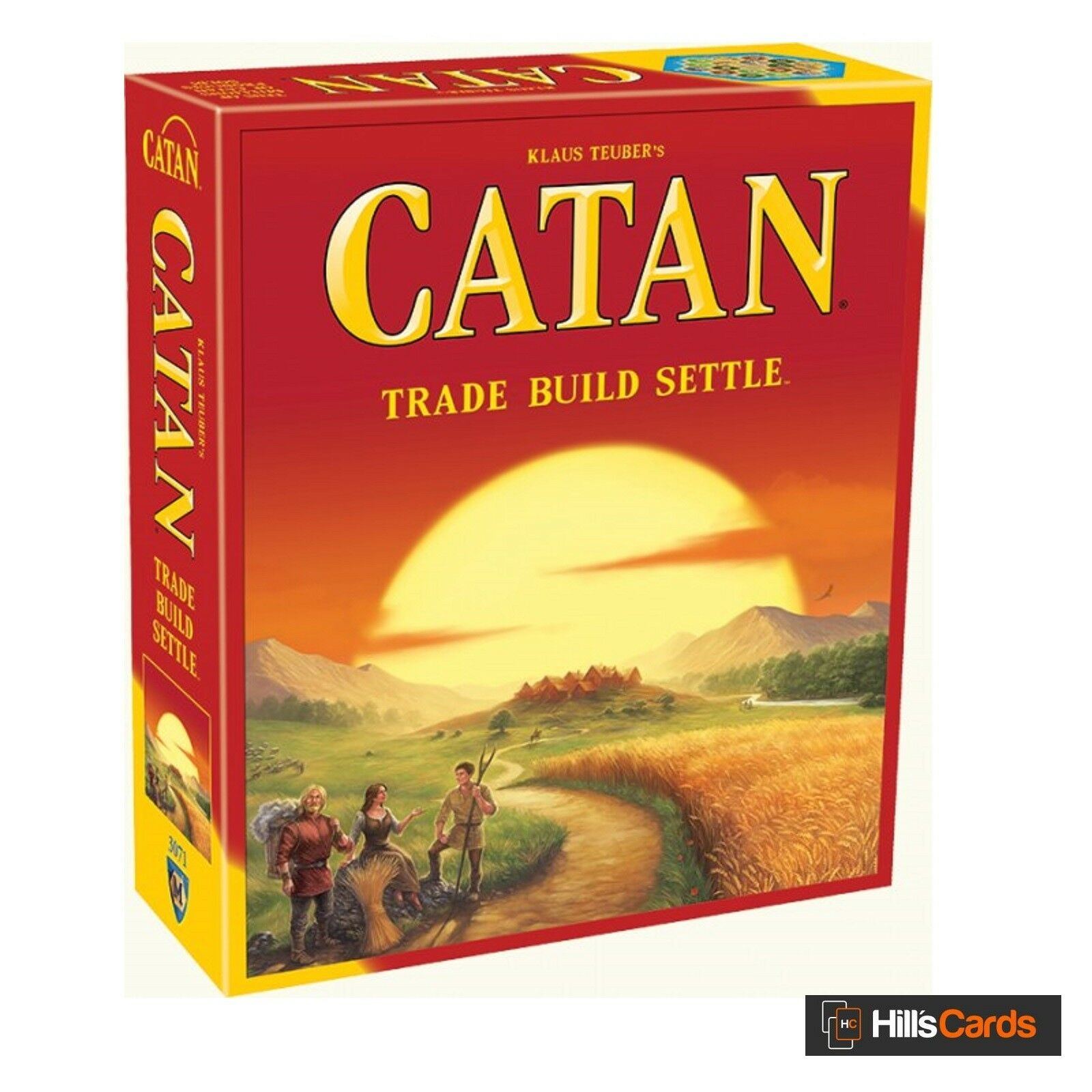 Catan Board Game - 2015 Refresh - 5th Edition - Base Set -  Settlers Of , Trade