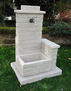 Bonfante Fontana Fontanella Da Giardino Pietra Ricostruita El Paso