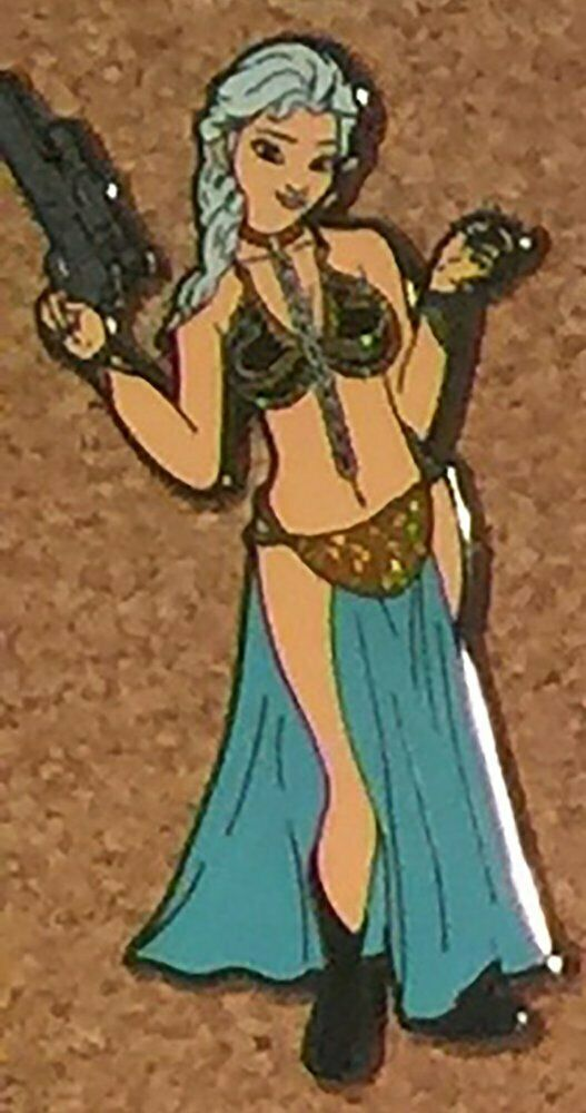 Elsa as Slave Leia from Star Wars LE100