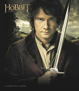 The-Hobbit-An-Unexpected-Journey-Movie-12-Month-2014-Large-Wall-Calendar-SEALED