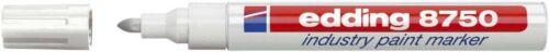 Edding 8750 weiß Lackmarker Industriemarker Rundspitze 2-4mm Industrie Marker
