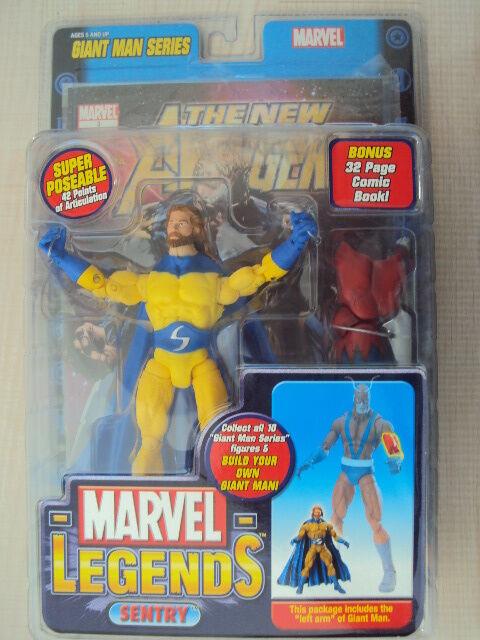Marvel legends serie riesiger mann wache stacheldraht gelbe spielzeug - biz - neuf 2006