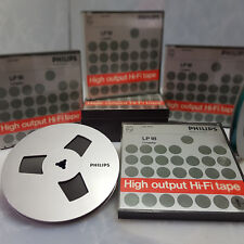 "PHILIPS LP18 METAL LOOK 7"" Reel to Reel Tape Reel Recording Tape 7 inch 18cm"