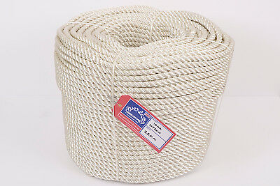 Sunny Everlasto Three Strand Nylon Mooring/anchoring Rope Parts & Accessories Climbing & Caving 24mm X 220m Coil