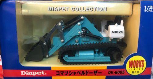 Diapet Komatsu Shovel Dozer High Quality Diecast Model 1   28 Made in Japan