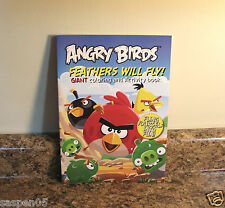 Angry Birds Coloring And Activity Book Feathers Will Fly NEW