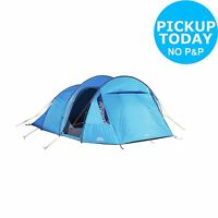 Vango Valetta 5 Man Double Skin Tent - Blue.from The Official Argos Shop On Ebay
