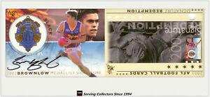2003-Select-AFL-XL-Series-Medalist-Signature-Redemption-SS1-Simon-Black-Rare