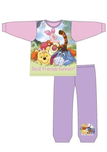 Baby Girls Pyjamas Winnie The Pooh Aristocats Marie Toddler Kids Pjs Nightwear