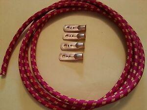1930s vintage austin 7 box ruby opal bougie tressé ht lead kit bobine type
