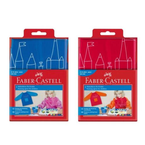 Malschürze für Kinder Faber-Castell Bastelschürze Schürze