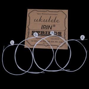 4Pcs-set-Ukulele-strings-white-nylon-U105-A-E-C-G-tuning-ukulele-stri-SL