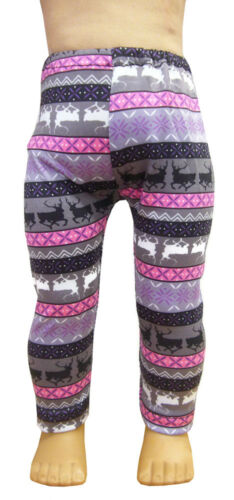 "Reindeer Fair Isle Leggings for 18/"" American Girl Doll Clothes Accessories"