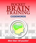 Pocket Brain Training Codewords by Puzzler Media (Paperback, 2009)