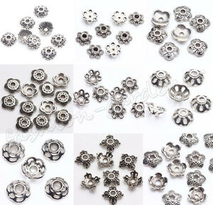 Wholsale-200pcs-Tibet-Silver-Metal-Spacer-Bead-Caps-5-6-7-8-9mm-Jewelry-Making