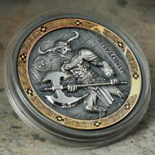 Mythical Creatures Series 2oz Antique Finish Silver Coin 2018 BIOT THE SIREN