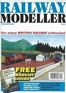 Complexé Railway Modeller February 2002 Soulager La Chaleur Et La Soif.