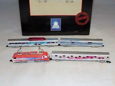 Dolce Z Scala Marklin 8117 Starlight Express Electra Elettrico Set Treno 1 Loco 3 Pass