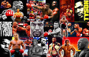 Mike Tyson Collage Poster