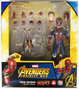 Medicom MAFEX IRON SPIDER MAN Nº 081 Avengers Infinity War