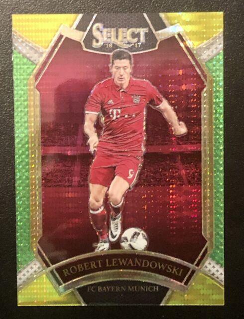 2016 Panini Select Robert Lewandowski Field Level Multi Color Bayern Munich #223