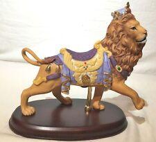 1990 LENOX Carousel Lion Carousel Horse Collection Lenox Fine Porcelain Figurine