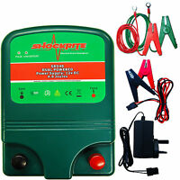 Electric Fence Energizer / Energiser Shockrite Srd40 4 Joule Dual Powered