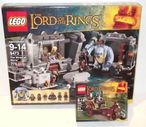 The Mines of Moria Lego Lord of the Rings Sticker Sheet Only 9473