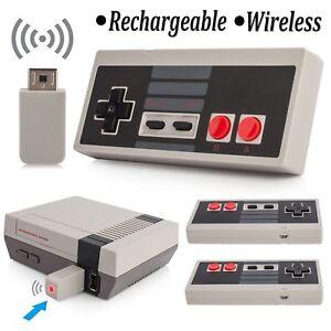 2x-Wireless-Gamepad-Game-Controller-Joypad-For-Nintendo-NES-Classic-Mini-Console