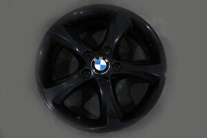 BMW-1-Series-E81-E87-Black-Wheel-Alloy-Rim-17-034-Start-Spoke-256-ET-47-7J-6778219