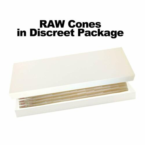 26mm Filter Tips 81 RAW Organic 1 1//4 Cones Pure Hemp 1.25 84mm Pre-Rolled
