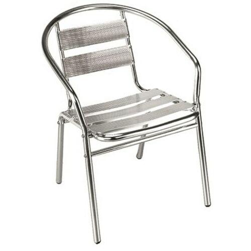 Sedie Per Ristorante Da Esterno.Set 4 Sedia In Alluminio Bar Giardino Da Esterno Sedia Per