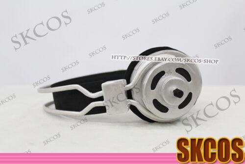 Super SUPER SONICO Cosplay Headset property accessories Silver Colour S08