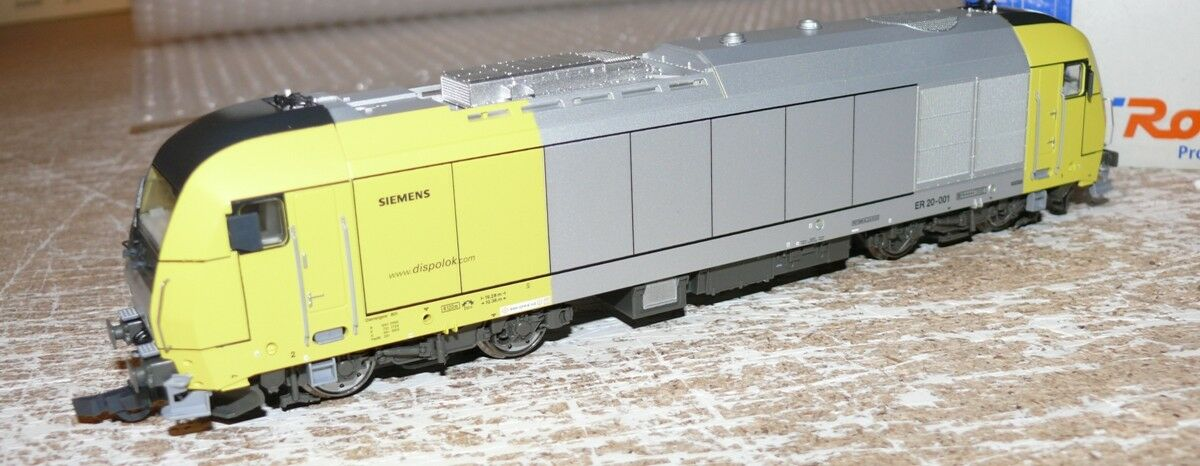 B33 ROCO 63399 Diesel Siemens ER 20-001 Dispolok
