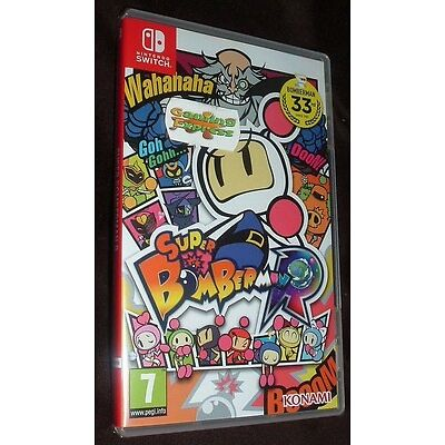 Super Bomberman R Nintendo Switch NSW NEW SEALED