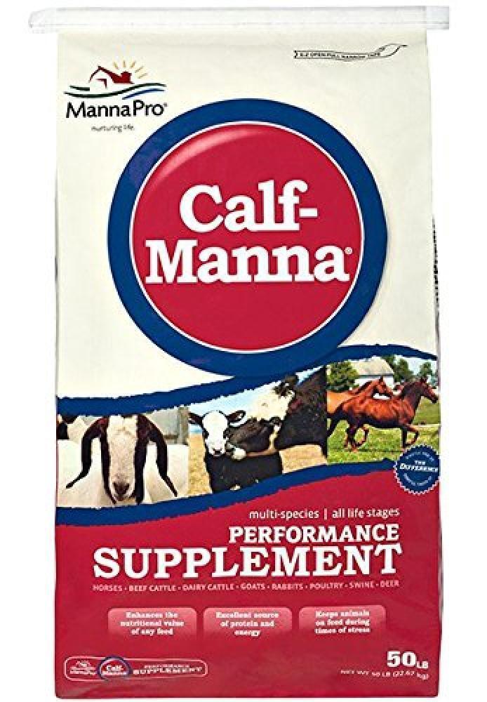Manna Pro Calf-Manna Supplement, 50 Lb, New, Free Shipping