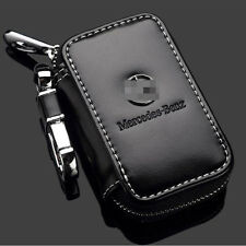 Genuine Leather Car Accessories Keychain Key Rings case bag for Mercedes Benz