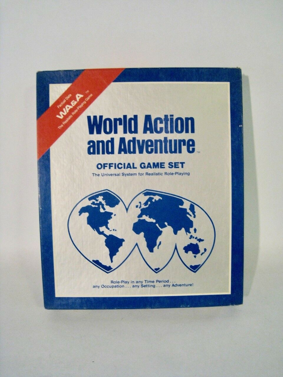 World Action and Adventure Official Game Set Set Set  RARE  RPG1985 Kinney 59fd1d