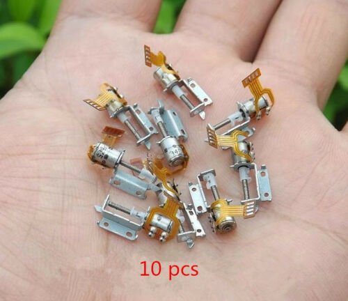 10x Micro-Schraube Stepper Micro 2-Phasen 4-Leiter Schrittmotortreiber HMYY