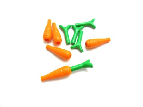 MENGEN-AUSWAHL LEGO Karotten Möhren mit Grünzeug 33172 33183
