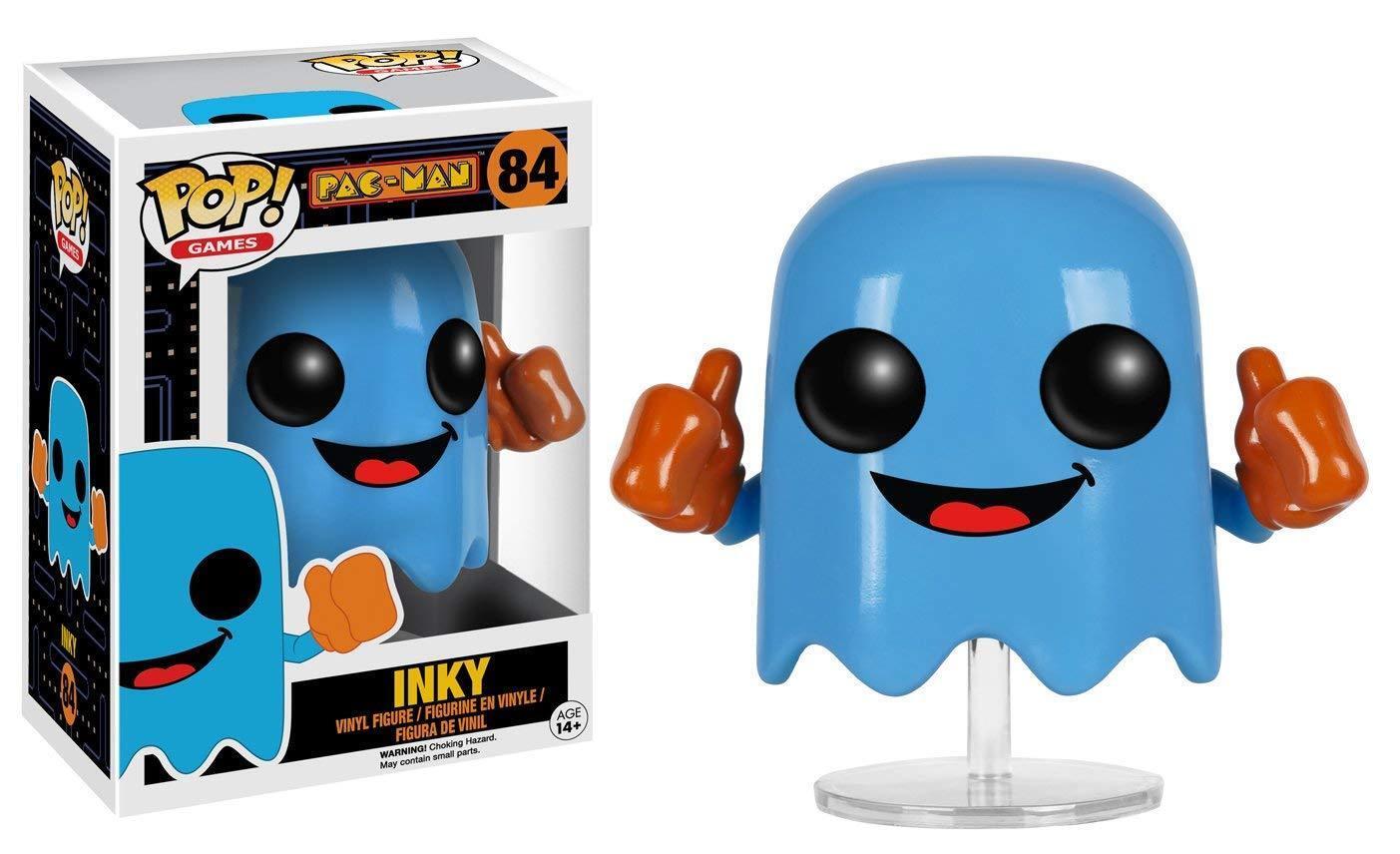 Funko Pop  Spiele Pac-Man Schwarz (Blau) Neu